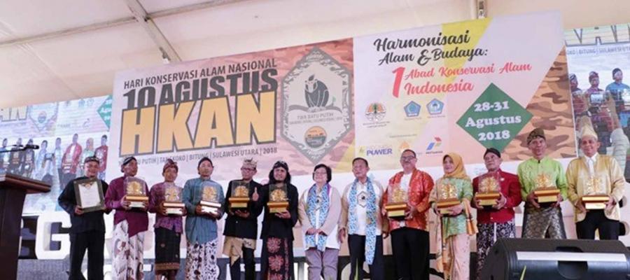 Kabupaten Bangkep Terima Penghargaan Kalpataru 2018